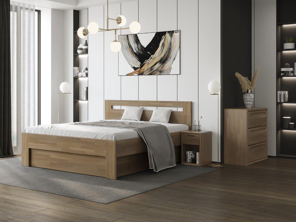 beny postel s úložným prostorem
