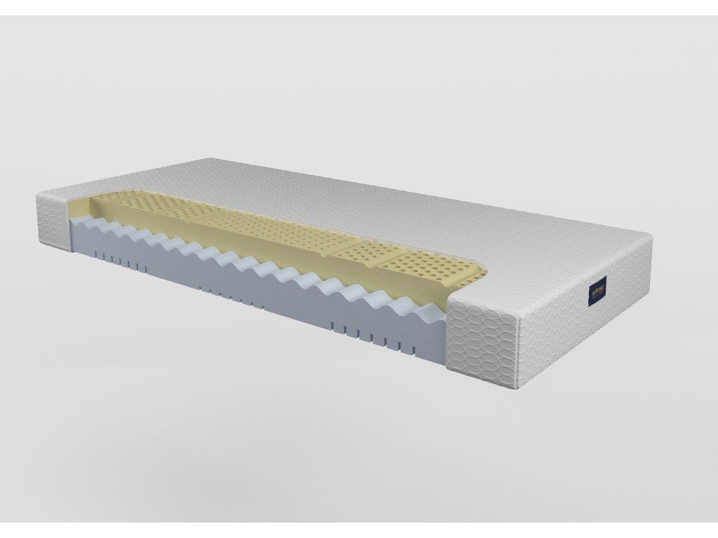 Vivien 18 - latexový, penový matrac (poťah elastic, Rozmery (šírka x dĺžka) 100 x 200 cm)
