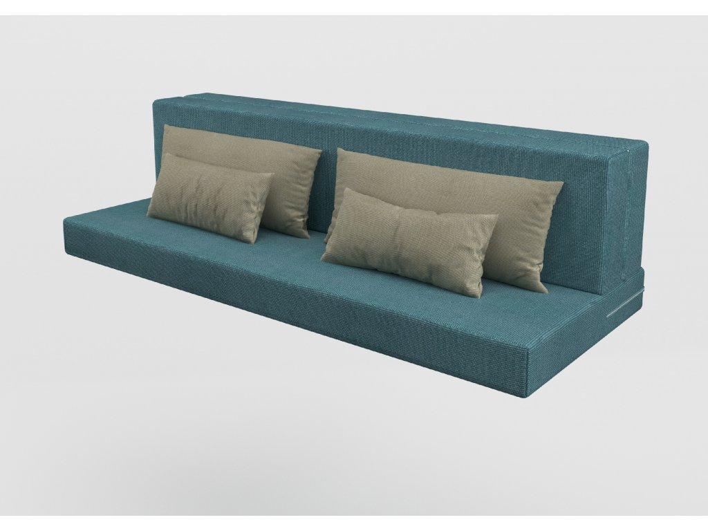 Komlet matrace USNU s polštářky pro rozkládací postel