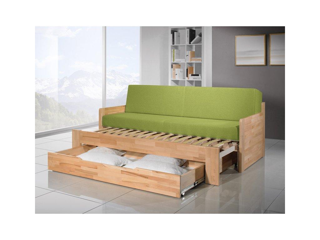 3773 dopio plnohodnotna rozkladaci postel