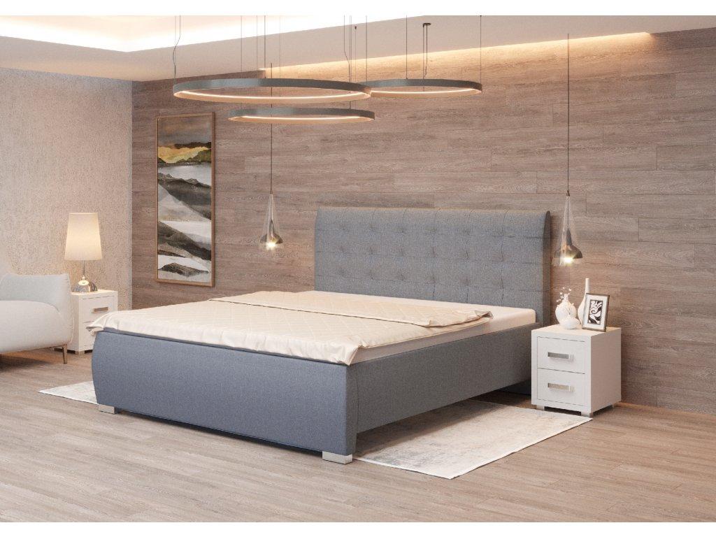 Čalouněná postel Agnes II