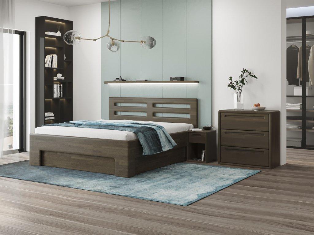 henrietta postel s uložným prostorem