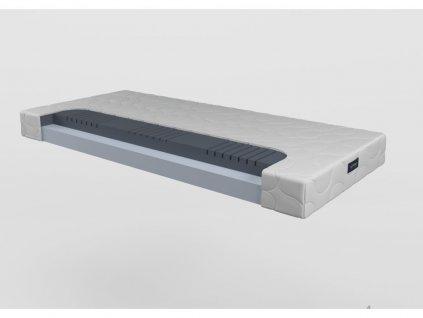 Emma 16 - penový matrac (poťah Silver style, Rozmery (šírka x dĺžka) 100 x 200 cm)