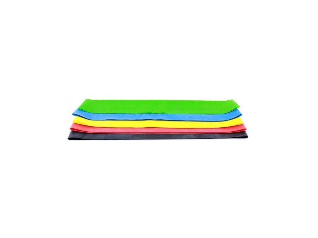 Sada 5 posilovacích mini gum (expandérů) gumy na cvičení fitness