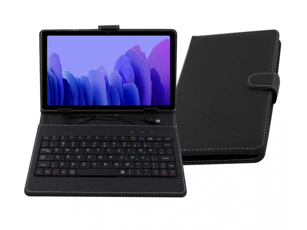 Pouzdro s klávesnici pro Samsung Galaxy Tab A7 10.4 (2020) SM-T500 SM-T505