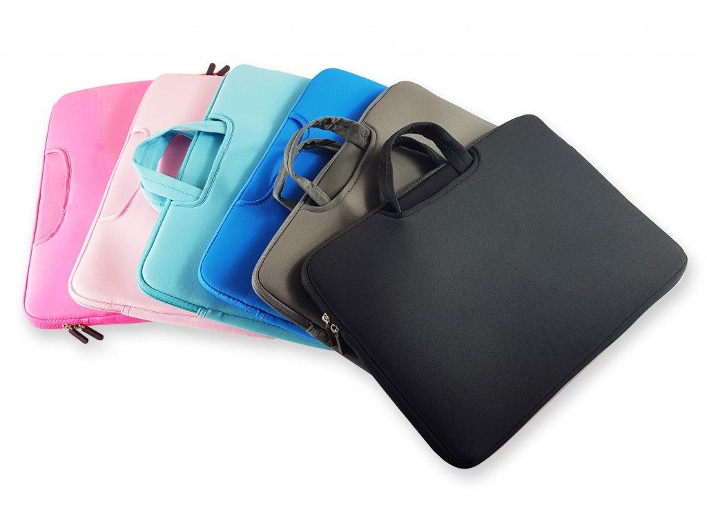 Neoprenový obal na notebook s displejem velikosti 14 - 15,6 palce