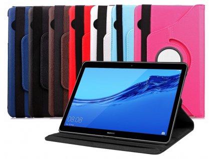 Otočné pouzdro pro Huawei Mediapad T5 10 AGS2-W09 AGS2-W19 AGS2-L03 AGS2-L09