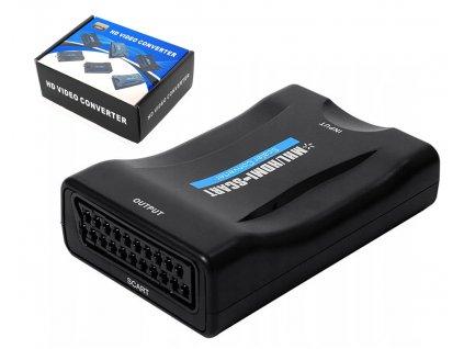 Adaptér z HDMI na AV EURO SCART TV