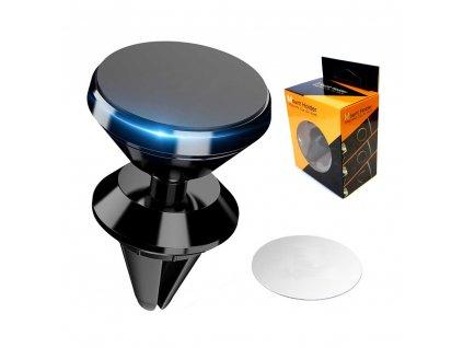 Hliníkový magnetický držák do auta pro telefon tablet nebo navigaci