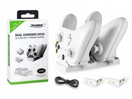 Duální dokovací stanice Dobe® Fomis Electronics pro ovládače XBOX ONE / S / X