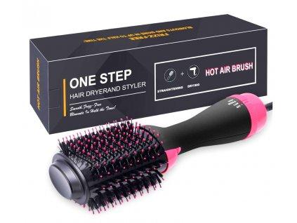 Vysoušeč vlasů (fén), hřeben a kulma v jednom – One Step