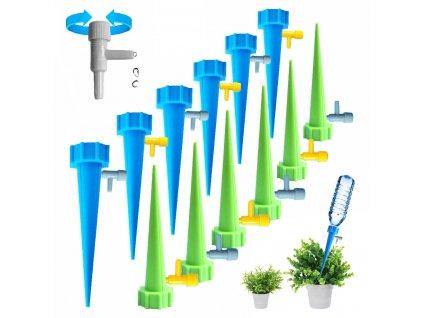 Sada pro zavlažování rostlin, zavlažovač s odkapávacím ventilem