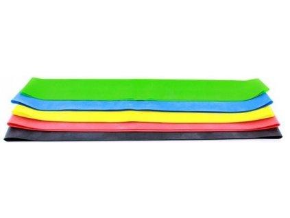 Sada 5 posilovacích mini gum (expandérů) Vortex Fit, gumy na cvičení fitness