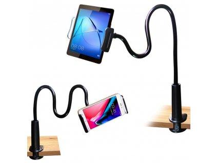 Flexibilní držák na tablety a telefony Gooseneck
