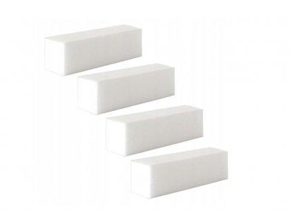 Lešticí blok na nehty bílý 100/180