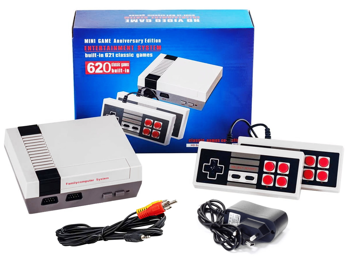 Televizní konzole Mini Video Game Entertainment System s 620 hrami