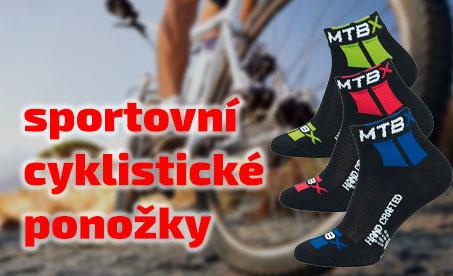Cyklistické ponožky Novia