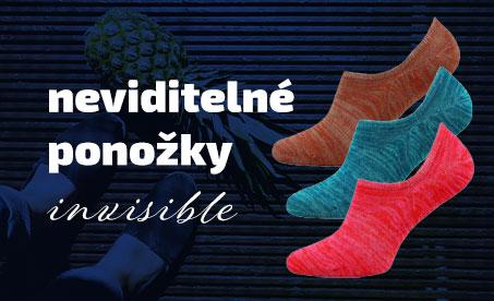 Dámské ponožky Invisible Novia