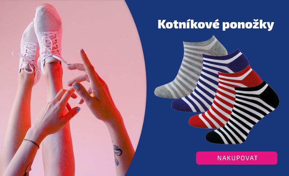 Kotníkové ponožky Novia