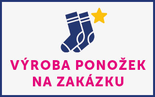 Výroba ponožek na zakázku