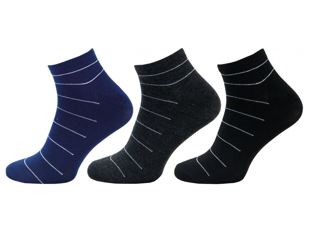 Pánské kotníkové ponožky - NOVINKA