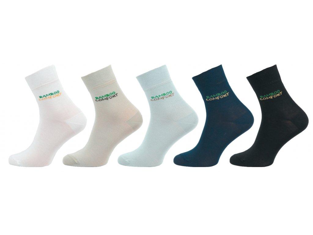 Ponožky Comfort s bambusem