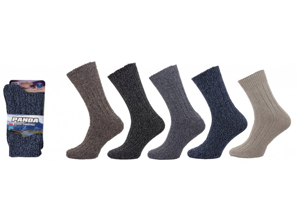 Dámské a pánské ponožky Panda