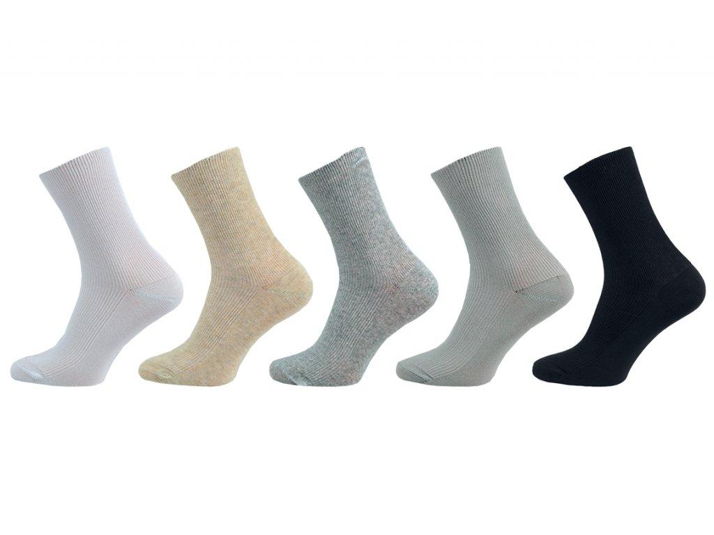 Dámské ponožky Medík - balení 5 párů