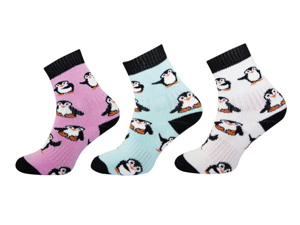Ponožky Froté vzor