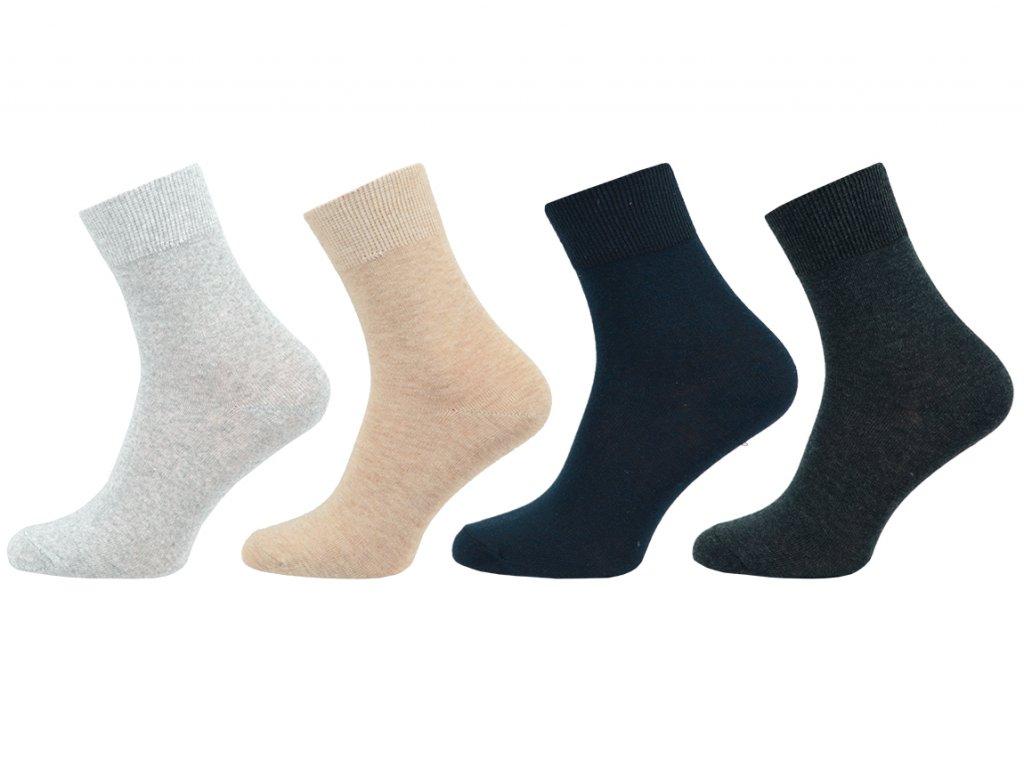 Dámské ponožky Lycra - balení 5 párů