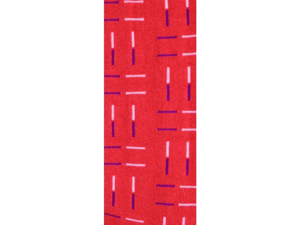 Dětské punčocháče bavlněné čárky