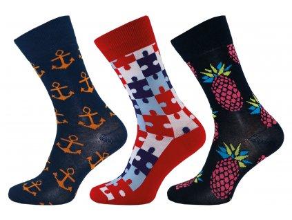 Ponožky Happy Socks kotva  - NOVINKA