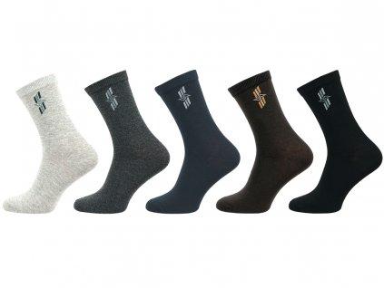 Pánské ponožky vzor Šipka - balení 5 párů