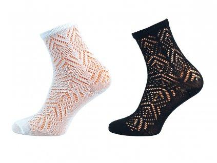 Dámské ponožky krajka Dana - balení 5 párů