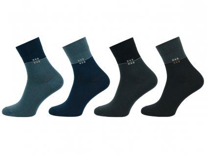 Pánské ponožky Comfort kostička - balení 5 párů