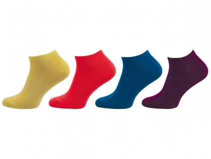 Dámské kotníkové ponožky 406N - balení 4páry