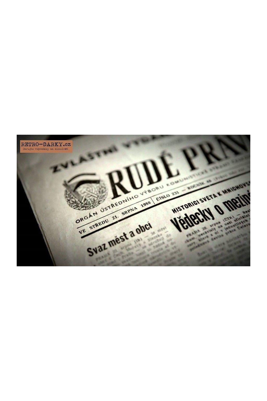 179 noviny ze dne narozeni rude pravo
