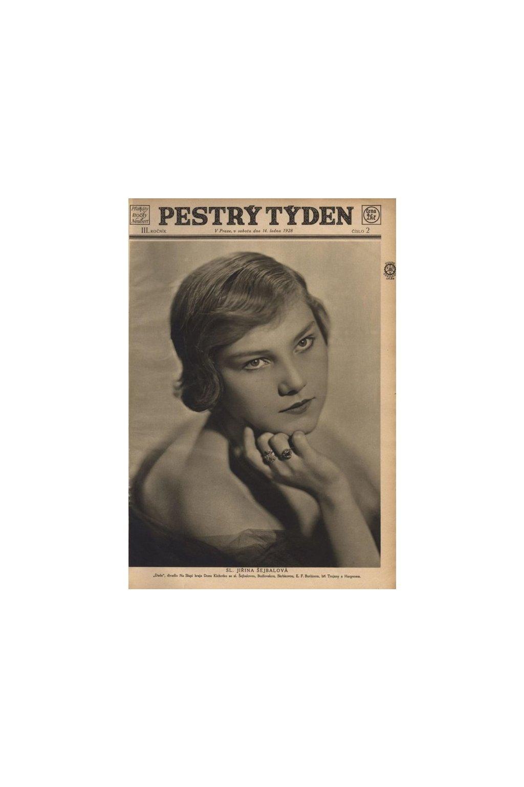797 ilustrovany casopis pestry tyden 1926 1945
