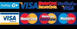 Loga přijímaných platebních karet