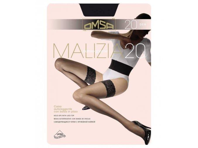 MALIZIA 20 samodržící punčochy 258OM
