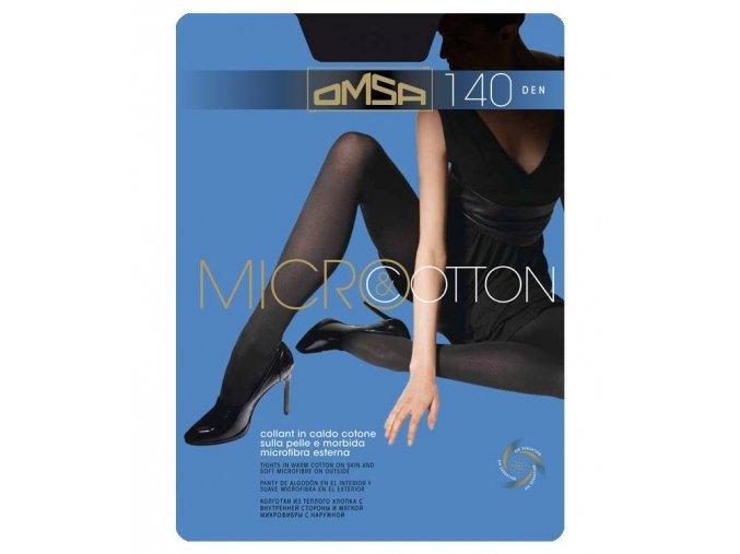 MICRO & COTTON punčochové kalhoty 323OM