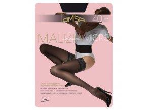 MALIZIA 40 MICRO samodržící punčochy