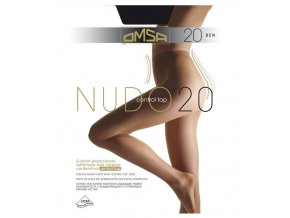 NUDO 20 CONTROL TOP punčochové kalhoty 227OM