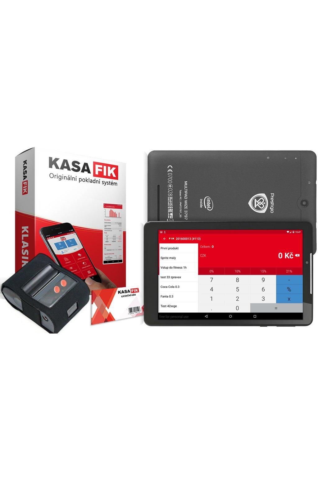kasa fik klasik with printer box