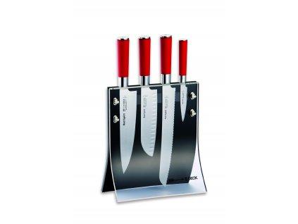 Magnetický stojan Dick na nože s noži ze série Red Spirit