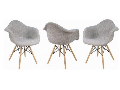 Jedálenské stoličky Wave Linda 4 ks