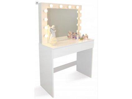 Toaletný stolík s osvetlením HOLLYWOOD