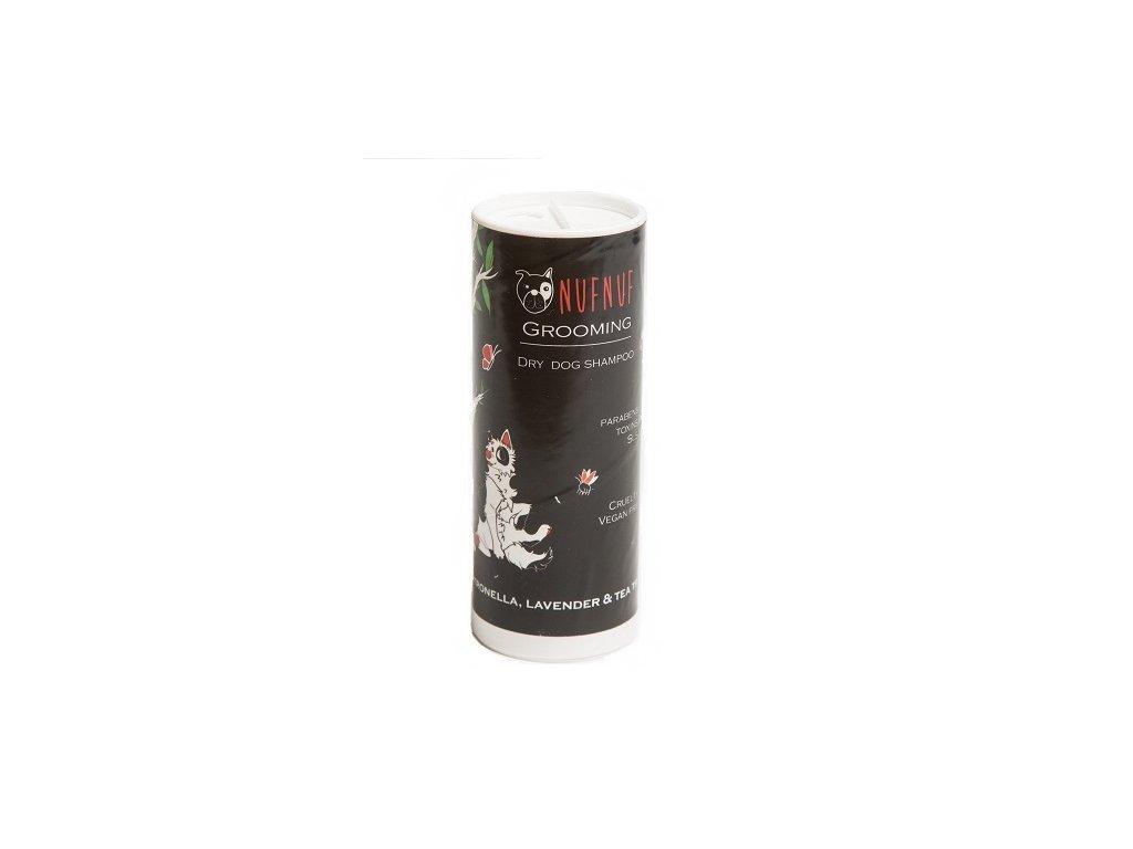 Přírodní suchý šampon pro psy a kočky