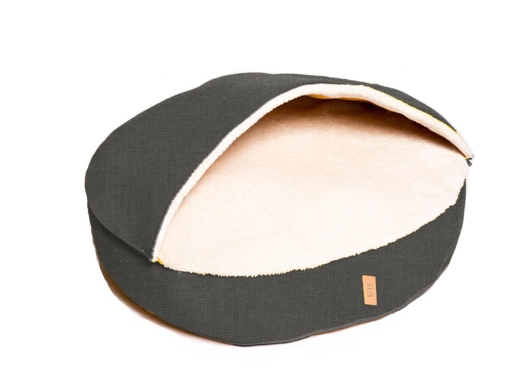 Luxusní pelíšek pro kočky BED BUD - tmavě šedá