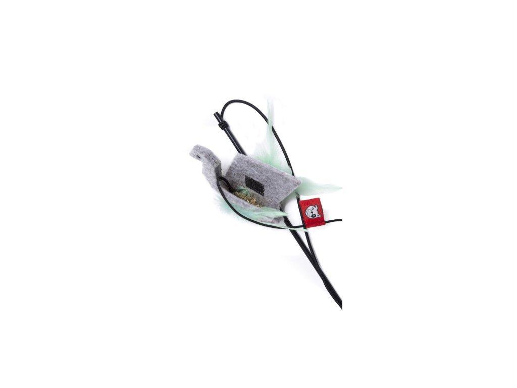 Origami swan catnip2 1 600x500 2
